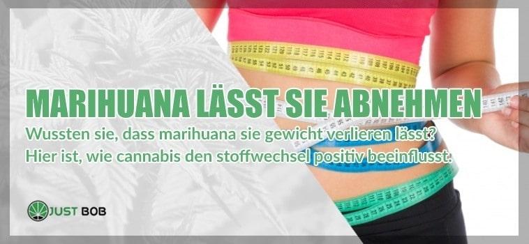 Marihuana lässt Sie abnehmen