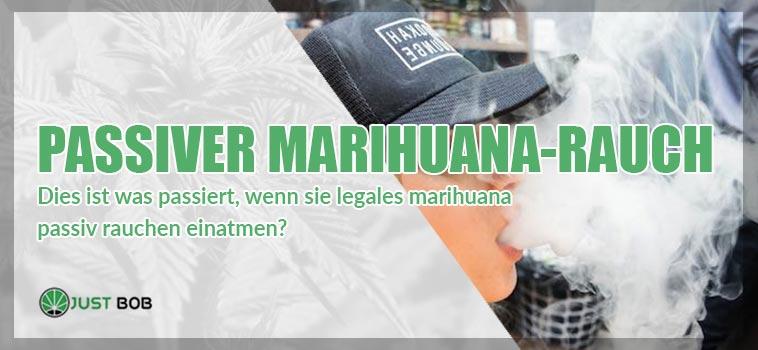Hat passiver Marihuana-Rauch tatsächlich Auswirkungen?