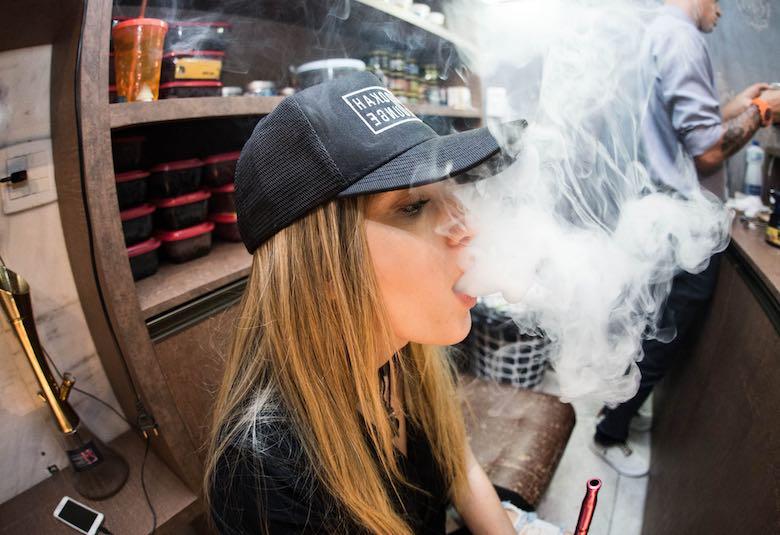 Auswirkungen von passivem Marihuana-Rauch
