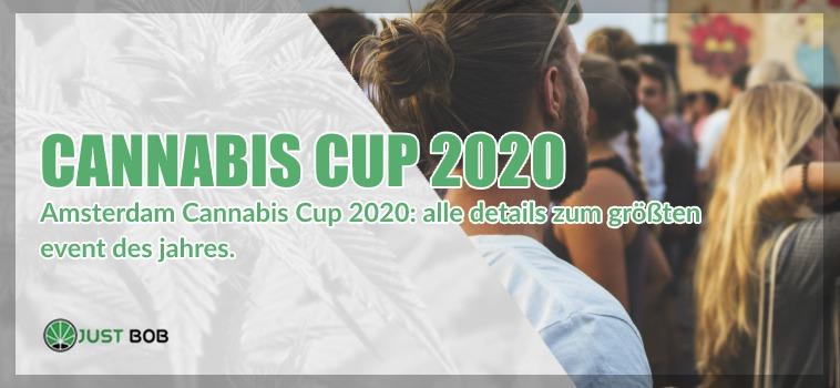 Der Cannabis Cup 2020 in Amsterdam